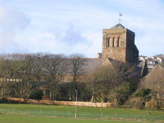 St Bees Church.
