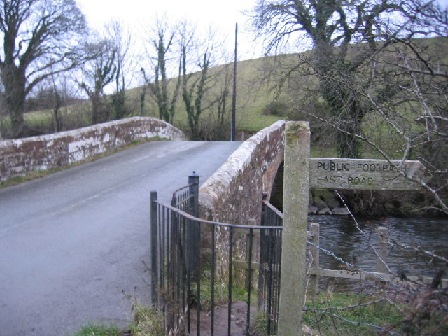 Bridge and footpath.