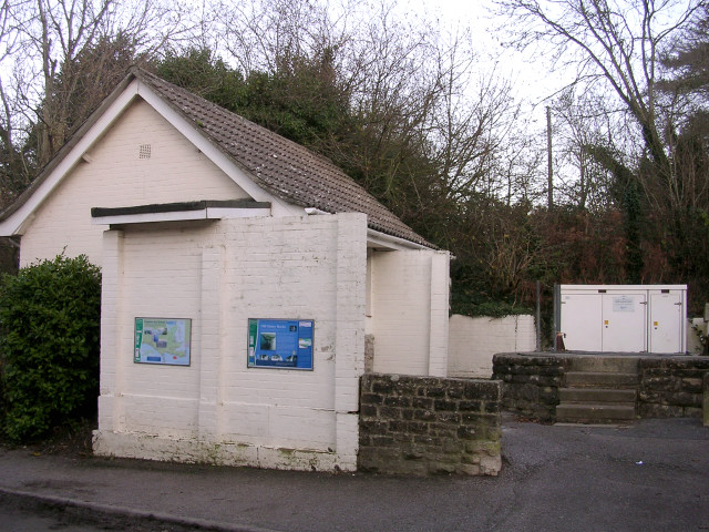 Studland public conveniences and sewage pumping station