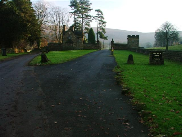 Entrance to Kepwick Hall