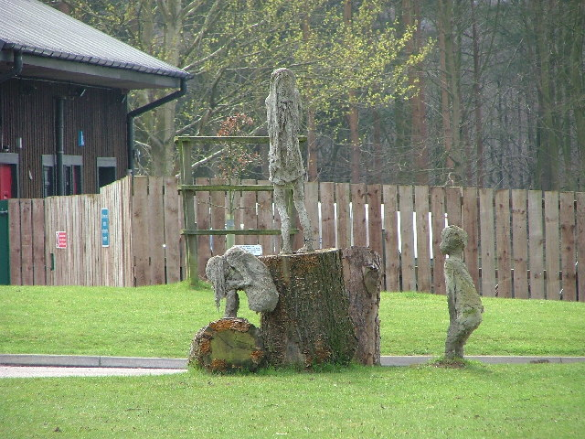 Sculptures, Forest Centre, Cannock Chase