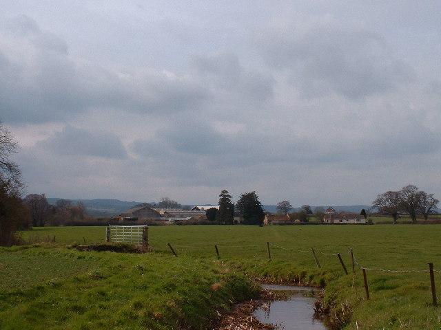 Pasture land near Rexworthy Farm