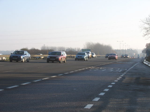 A14 south Cambridgeshire