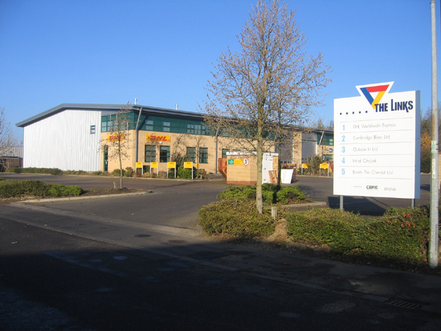 The Links trading estate, Bar Hill, Cambs