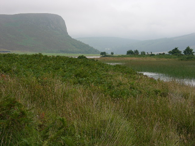 View of Carrol Rock, Loch Brora, Sutherland