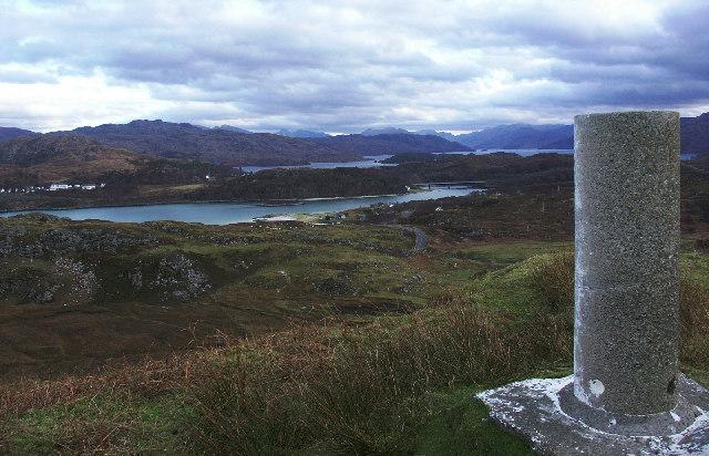Easterly View  from Trig Point on Beinn an Achaidh Mhoir