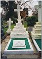 TQ3568 : Grave of W.G.Grace, Beckenham Cemetery, Beckenham by John Goodall