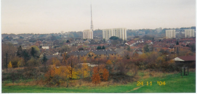 Crystal Palace from South Norwood Country Park