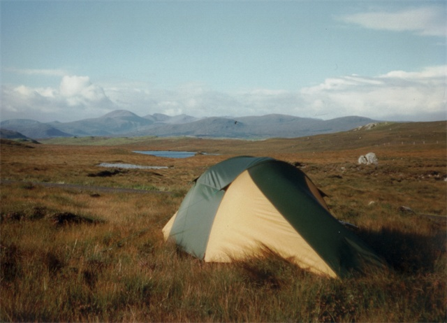Camping by the Eisgein Road
