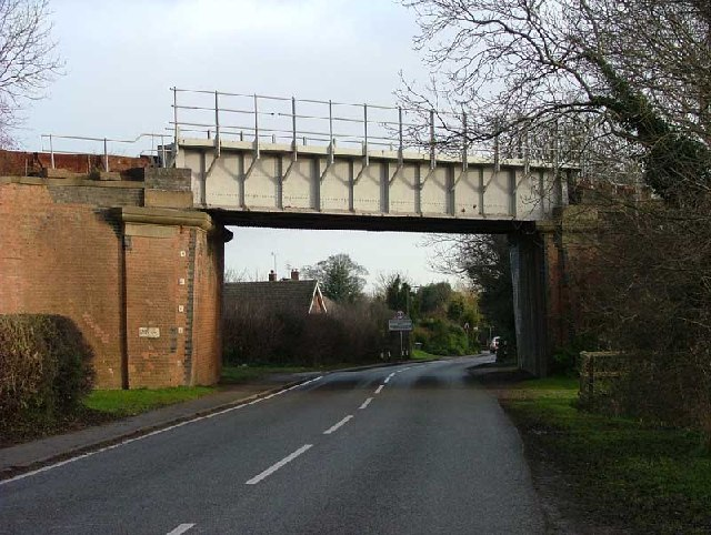 Entrance to North Leverton Notts