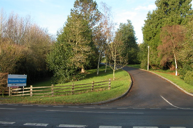 Entrance to Winchcombe Hospital