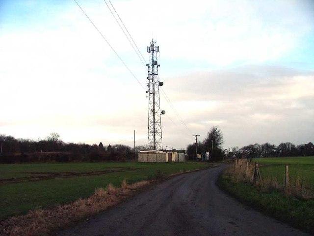 Communications mast Nr Grove Notts
