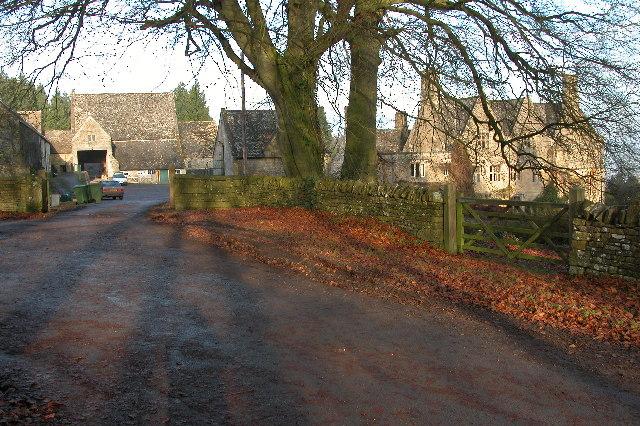 Manor House and Farm at Charlton Abbots
