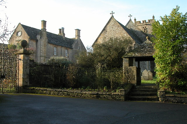 Hawling church and Hawling Manor