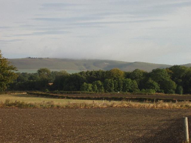 ploughed field near Beechingstoke