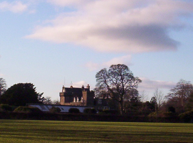 Thornton Castle near Laurencekirk