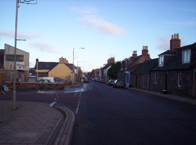 Laurencekirk High Street
