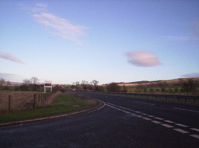 A90 from Laurencekirk Junction