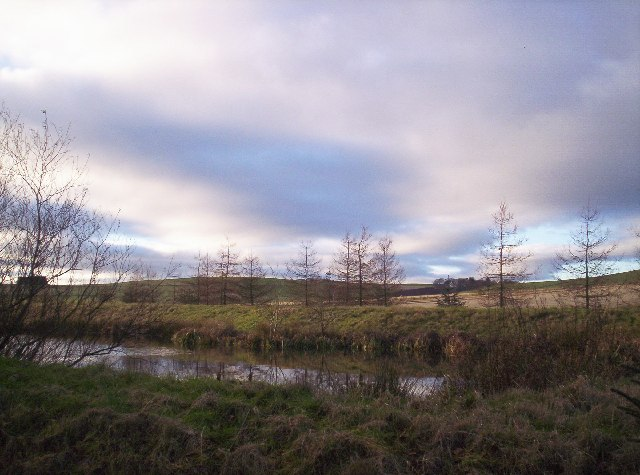 Hill of Garvock from Pond