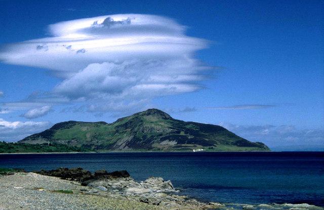 Holy Island off Arran.
