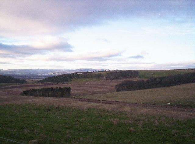 The Shoulder of Hill of Garvock with Craig of Garvock