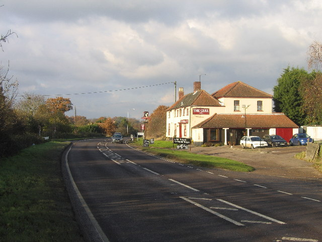 A146 passing The Gull