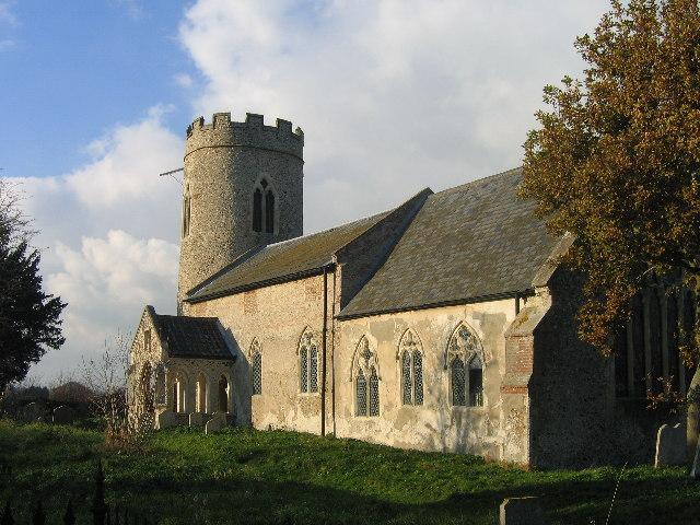 St John the Baptist, Hellington