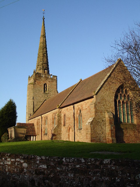 Parish Church of Saint Peter, Bickenhill in the Birmingham Diocese