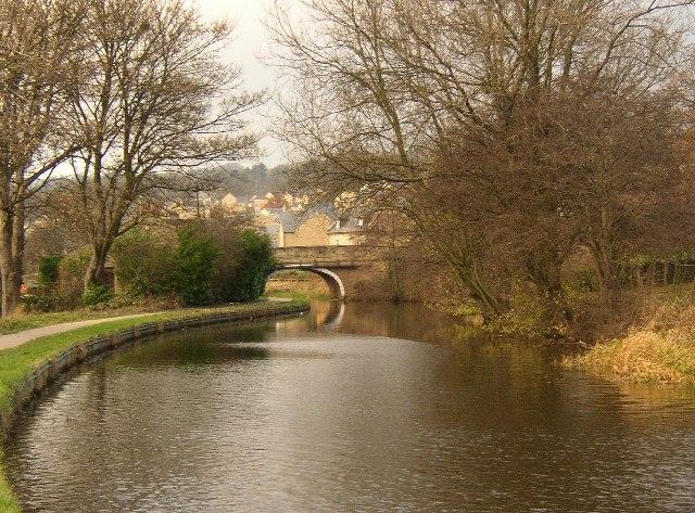 Swine Lane Bridge, near Riddlesden, Morton
