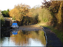SP1880 : Grand Union Canal just beyond Catherine de Barnes village by peter lloyd