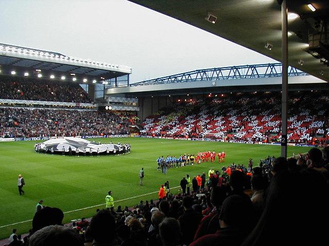 Anfield Football Stadium