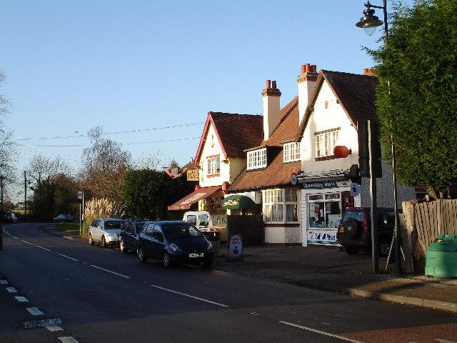 Village shops in Catherine de Barnes