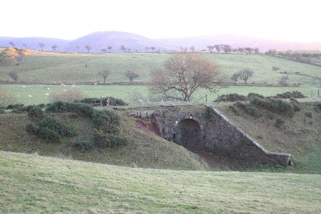 disused mineral railway bridge