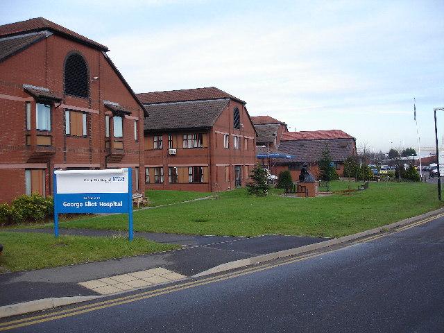 George Eliot NHS Trust Hospital, Nuneaton