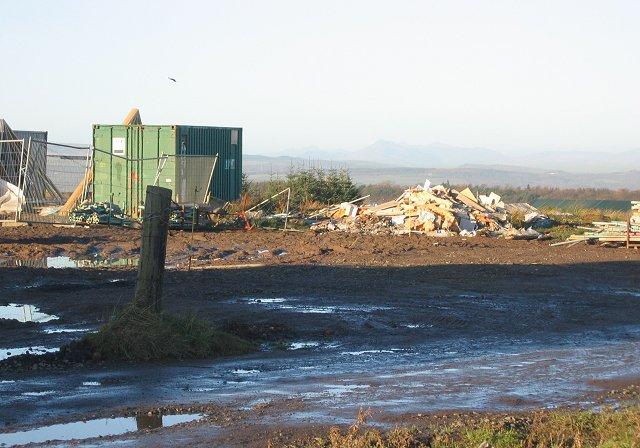 Building site, Reddingrig Muir.