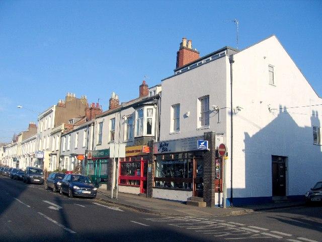 Clarendon Street shops
