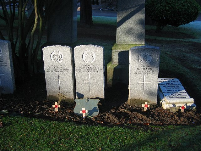 War graves, Grandsable.