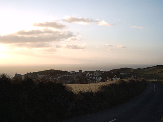 View of Mortehoe from Station Road