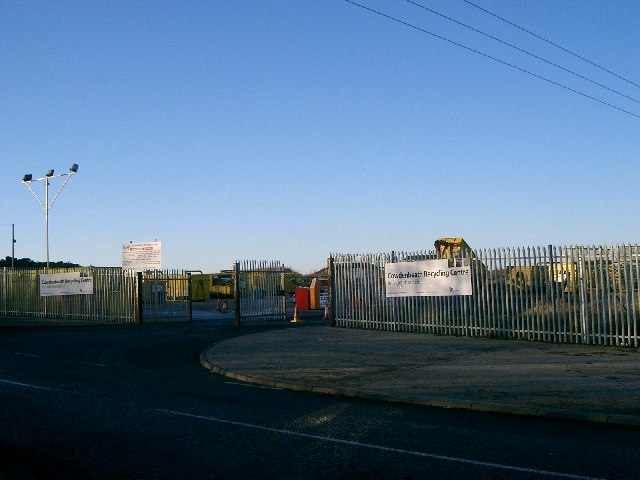 Cowdenbeath Recycling Centre.