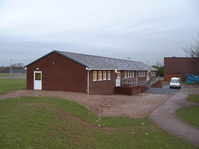 New classroom block, Aldersley School