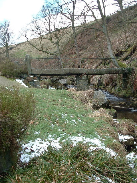 Hebble Hole Bridge,  Colden