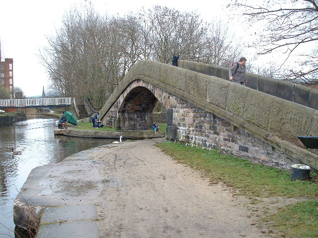 Junction of the Peak Forest, Ashton and Huddersfield Narrow Canals.