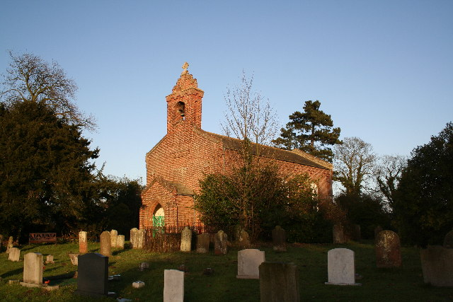 St.Margaret's church, Langrick, Lincs.