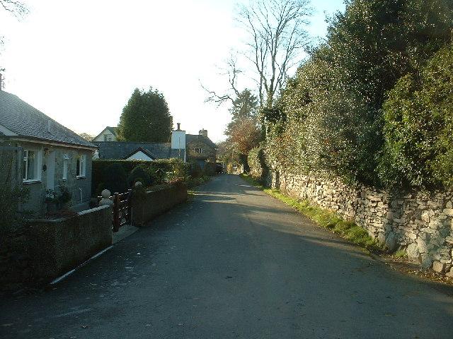 Pentrefelin village