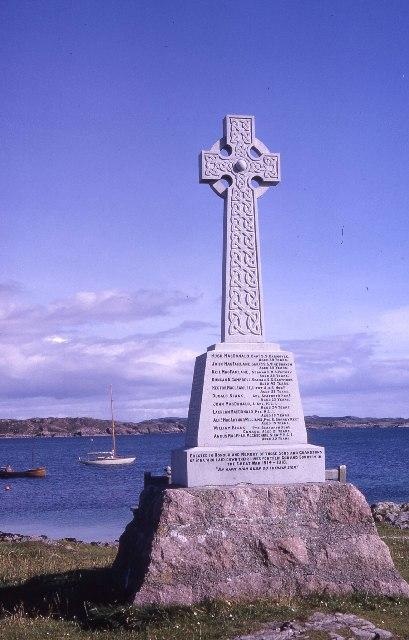 War Memorial, Iona