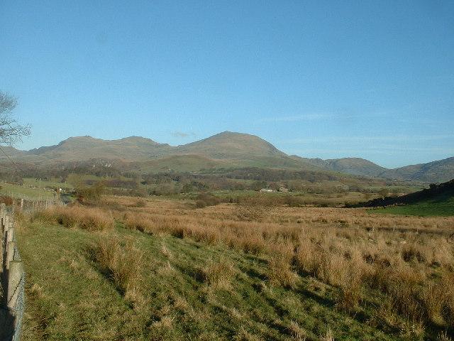 Farmland near Criccieth