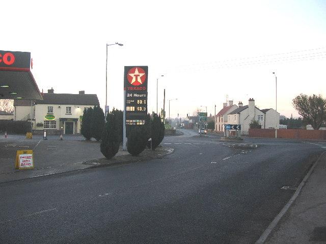 Yarnbrook Roundabout