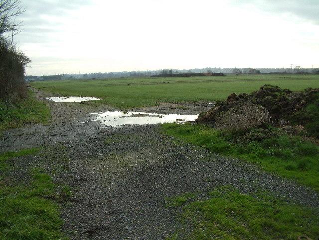 Farmland, East Parley, Dorset