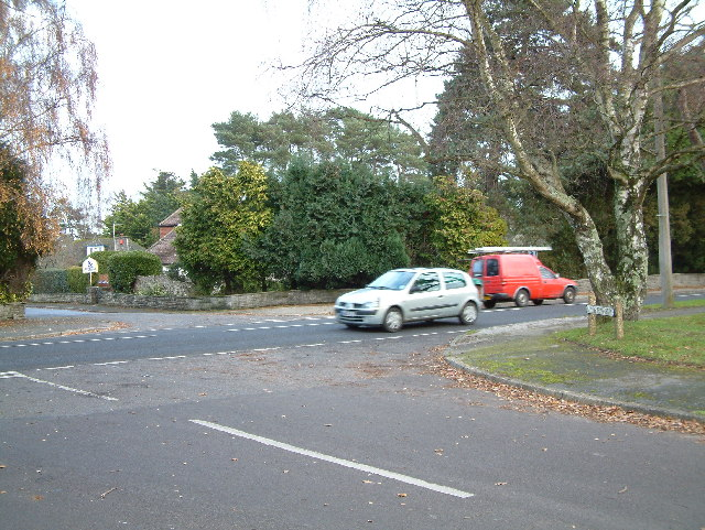Road Junction, West Parley, Dorset