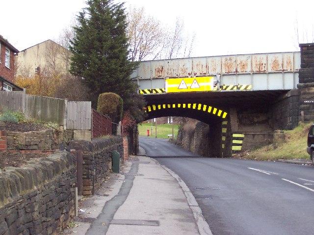 Bridge over Henconner Lane